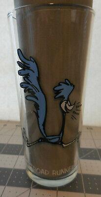 VINTAGE Looney Tunes Glassware Pepsi Collector Series 1973 Road Runner