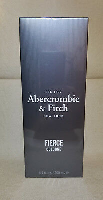 FIERCE By Abercrombie & Fitch Men's Eau De Cologne 6.7oz BIG SIZE SEALED IN BOX for sale  Bronx
