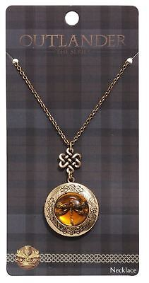 Outlander The Tv Series Official Dragonfly Necklace Jamie Claire Fraser Clan New