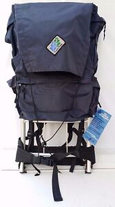 NWT Camp Trails External  Frame Hiking Camping Backpack Bag Blue