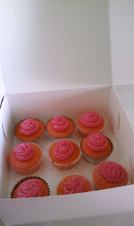 $50 30 iced cupcakes delivered NORTHSIDE