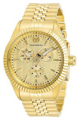 TechnoMarine TM-719008 Sea Dream Unisex 42 mm  NEW 2020 Gold Watch