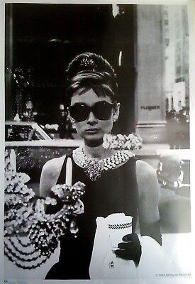 Audrey Hepburn, Frühstück bei Tiffany: Sonnenbrille | US Import Filmplakat