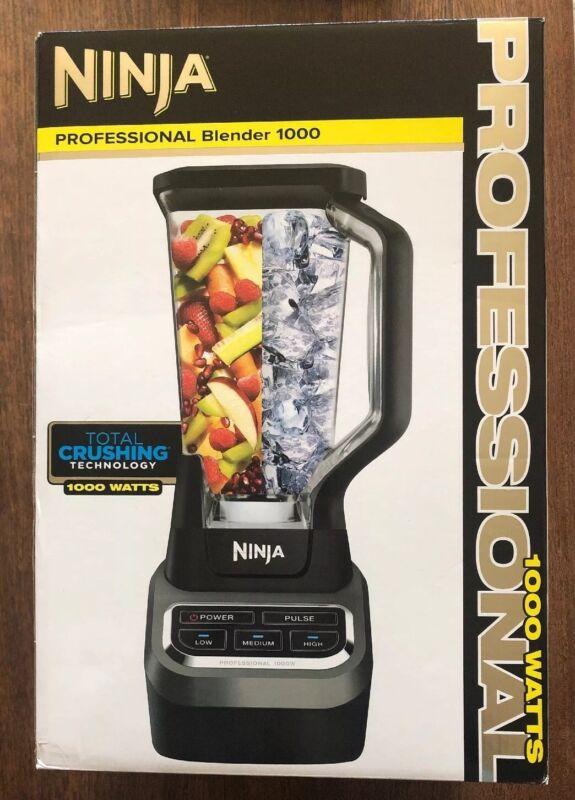 Ninja Professional 1000 3-Speed Blender Black/Silver BL610