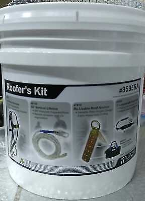 Falltech Contractors Roofers Kit Fall Protection Safety Harness 8595ra