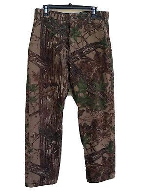 Cabela's Camo Pants Whitetail Clothing Insulated GoreTex Hunting sz Medium USA