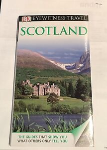Scotland Travel book with pull out Maps. Never used.
