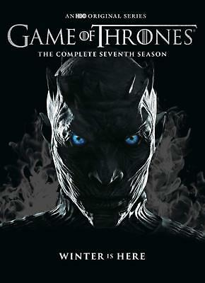 Game of Thrones: complete season 7  (4 discs dvd set, 8 episodes)