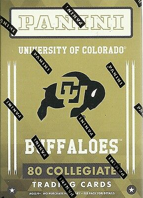 2016 Panini Univ. Of Colorado Buffaloes Multi-Sport Blaster Box Trading Cards