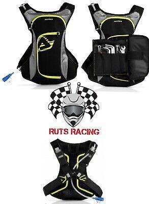 Acerbis Acqua 3L 2 Enduro Trail Mx Motocross Hydration Drink Back Pack/Tool Bag