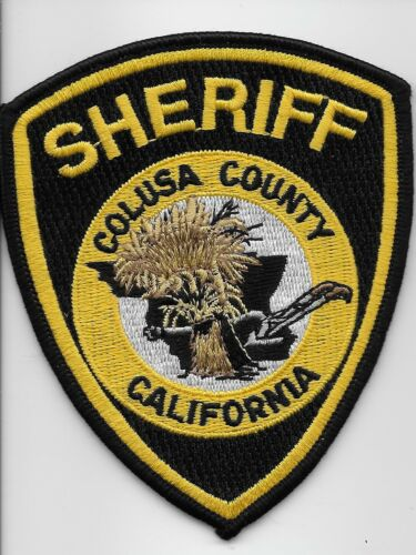 Colusa County Sheriff State California CA