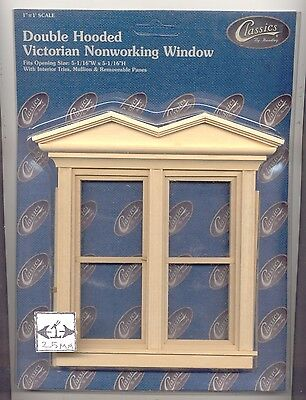 dollhouse 1:12 scale #5039 1pc Miniature Houseworks VICTORIAN SINGLE WINDOW