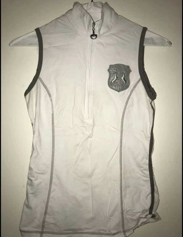 Goode rider ideal white shirt