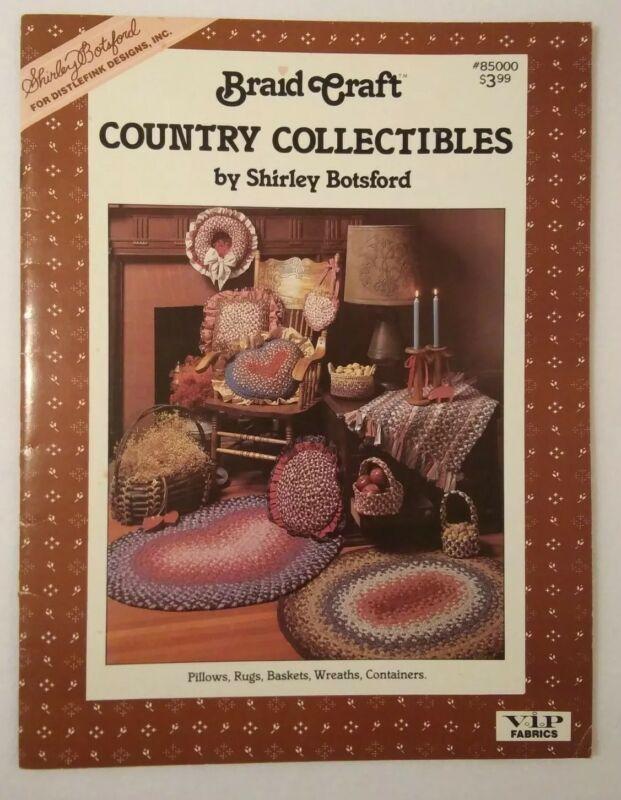 Distlefink 85000 BRAID CRAFT 22p fabric rug making booklet 1987 Shirley Botsford