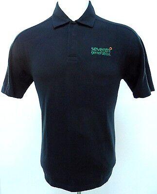 Patagonia Polo M Black M Herren Sz Größe Organisch Baumwollmischung Druckknopf - Patagonia Herren Polo-shirt