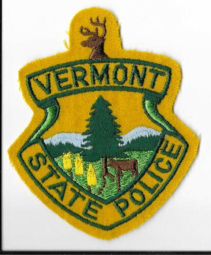 Vermont State Police Shoulder Patch V1