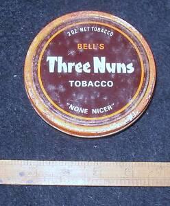 BELL'S 2 oz Three Nuns Tobacco Tin Toronto Lake Macquarie Area Preview