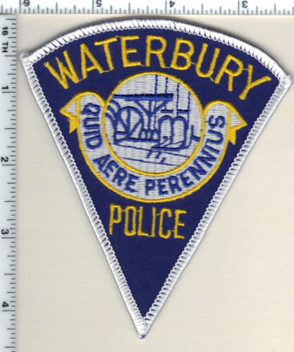 Waterbury Police (Connecticut) Shoulder Patch - new from 1992