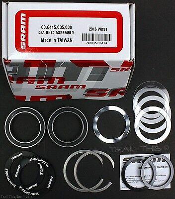 SRAM Truvativ BB30 Bottom Bracket Cupset Crank Bearings Assembly Kit Direct Fit