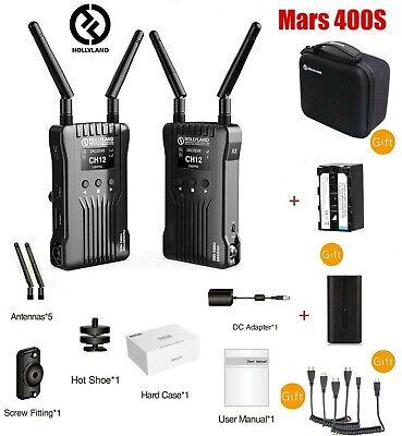 Hollyland Mars 400S SDI/HDMI Wireless Video Transmission System for DSLR Camera