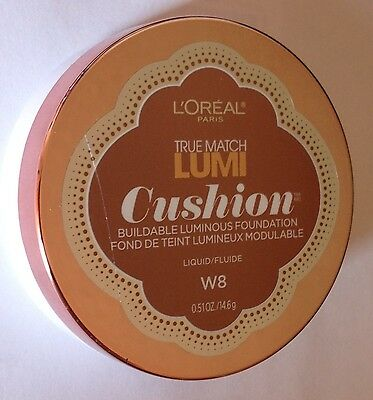 L'Oreal Paris True Match Lumi Cushion Buildable Luminous Foundation CREAMY CAFE
