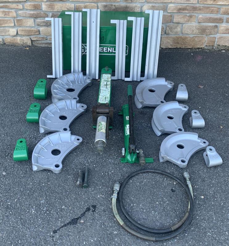 "Greenlee 882 Flip Top Hydraulic Pipe Bender 1-1/4""-2"" Rigid IMC EMT"