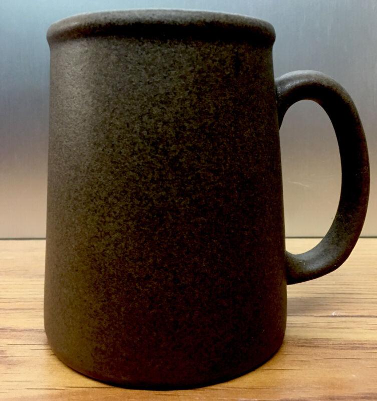 """Bennington Potters TANKARD Mug Tavernware S1  - 12 oz.  4"""" Brown Speckled"""