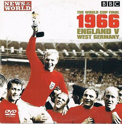 The World Cup Final 1966 England v Germany -  DVD N/Paper