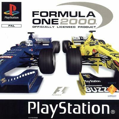 Formula One 2000 FIA Racing F1 Sony Playstation PS1 Retro Game for sale  Shipping to Nigeria