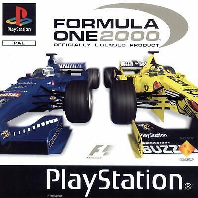 Formula One 2000 FIA Racing F1 Sony Playstation PS1 Retro Game comprar usado  Enviando para Brazil