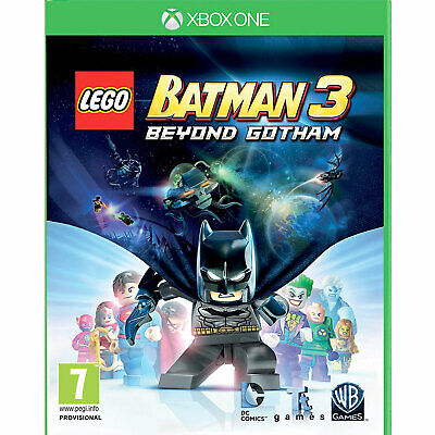 LEGO Batman 3 Beyond Gotham XBOX ONE New and Sealed
