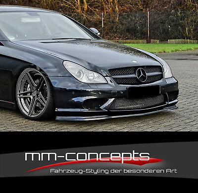 CUP Spoilerlippe für Mercedes CLS C19 55 AMG 63 AMG Frontspoiler Spoilerschwert