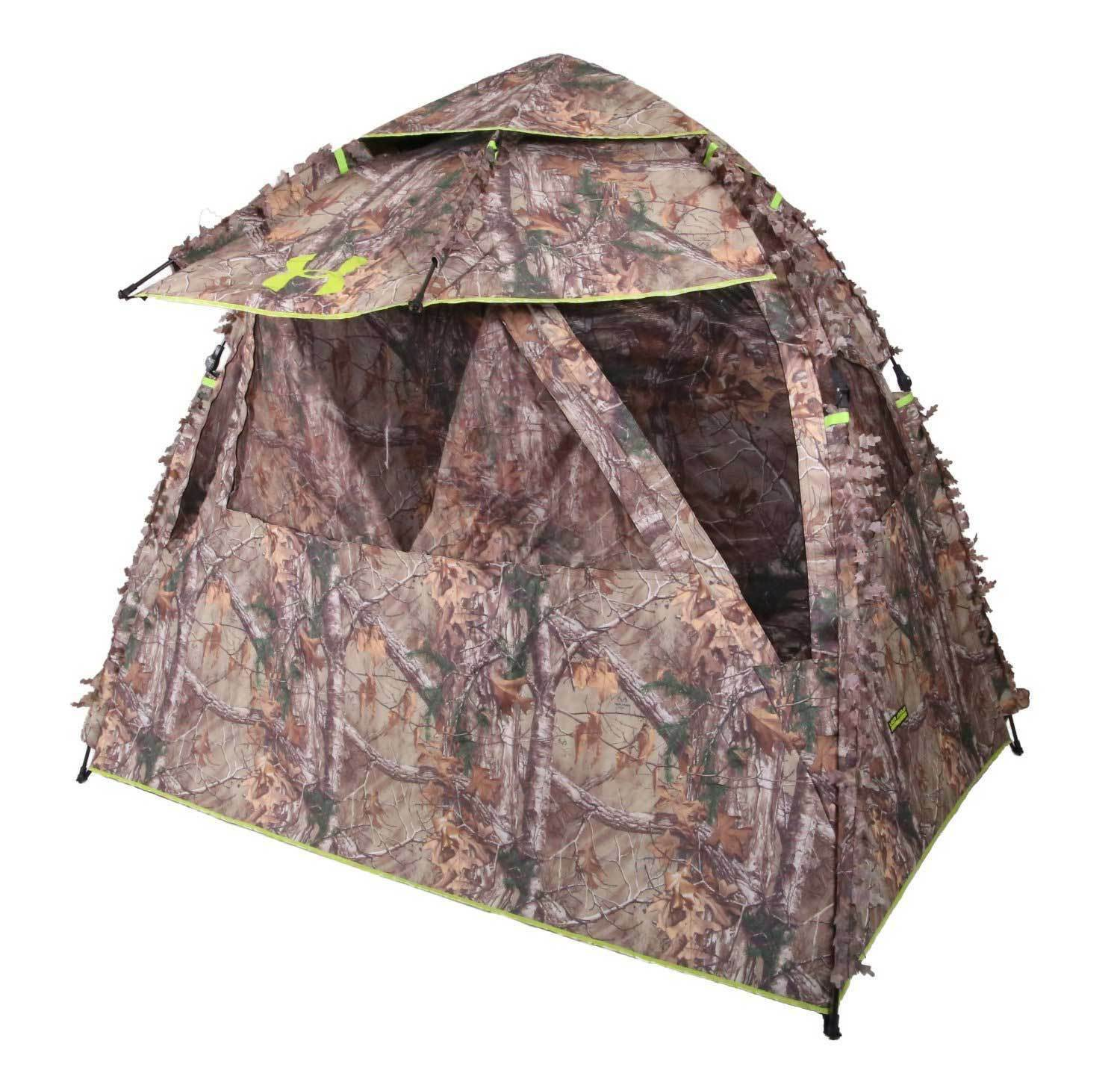 blinds reviews brickhouse best brotherhood realtree xtra top ameristep outdoors ground hunting blind all