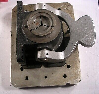 5c Horizontal Vertical Standard Collet Holding Fixture Manually Activated