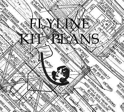 Flyline Models Inc  Kit Plans On Cd      Great Collection