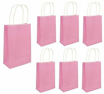 PARTY BAGS BABY PINK Baby Shower Kids Girls Birthday Favors  Hen Goodies Gift UK - Halloween Party Favors Uk