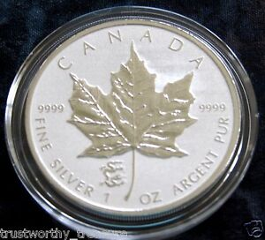 2012 1 oz Silver Canadian Maple Leaf DRAGON PRIVY Reverse Proof ~ LOW MINTAGE!!!