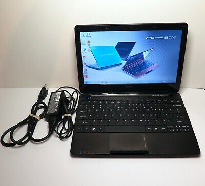 Acer Aspire One 722 Laptop Netbook, AMD C50 1.00Ghz, 300GB HDD, 4GB RAM, Win 7
