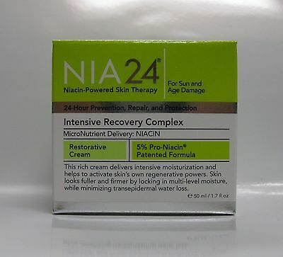 NIA24 NIA 24 Intensive Recovery Complex  - 1.7 oz / 50 ml New Fresh - Authentic