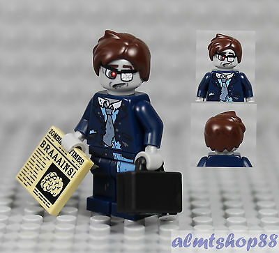 LEGO Series 14 - Zombie Businessman Minifigure 71010 Collectible Halloween - Halloween Businessman
