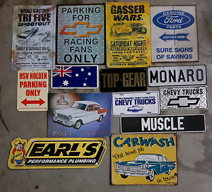 Workshop metal signs Penrith Penrith Area Preview