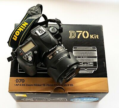 Nikon D70 6.1MP Digital SLR Camera Kit with 18-70mm kit lens