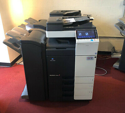 Konica Minolta Bizhub C364e Color Copier Printer Scanner Network Low 53k Total