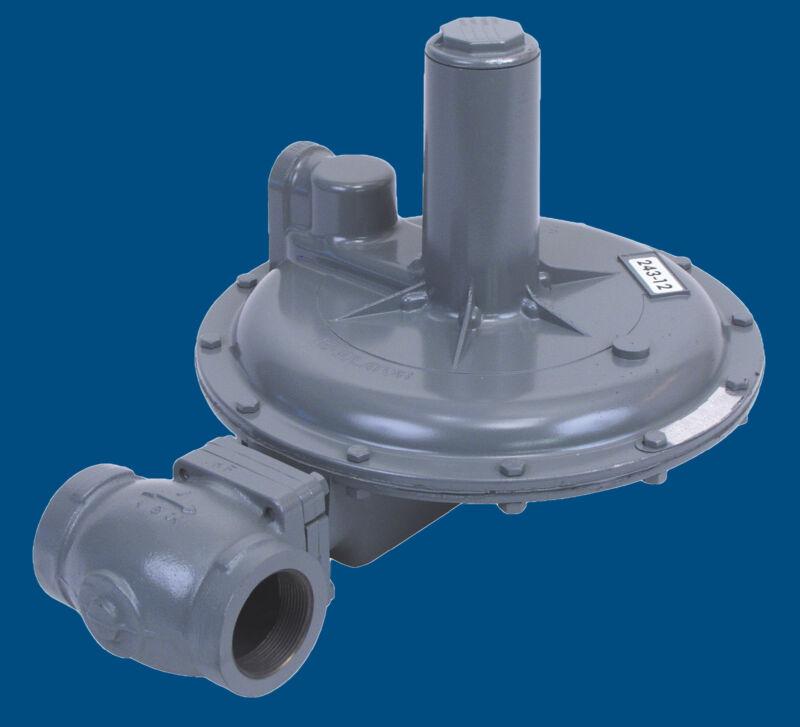 "Pressure Gas Regulator, Sensus 243-12-2, 2""npt"