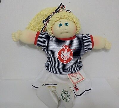 1989 Cabbage Patch Soft Sculpture Pearl Edition doll