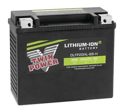 TWIN POWER LITHIUM-ION BATTERIES FOR INDIAN AND VICTORY DLFP20HL-BS-H