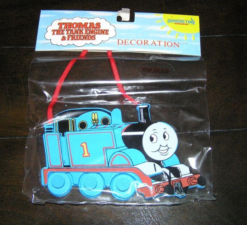 NIP NEW Rare Thomas the Tank Engine Train Wooden Christmas Tree Ornament