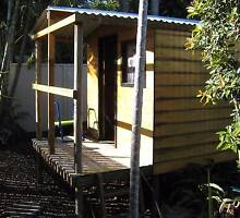 Cubby House wood with slide and swing Scarborough Redcliffe Area Preview