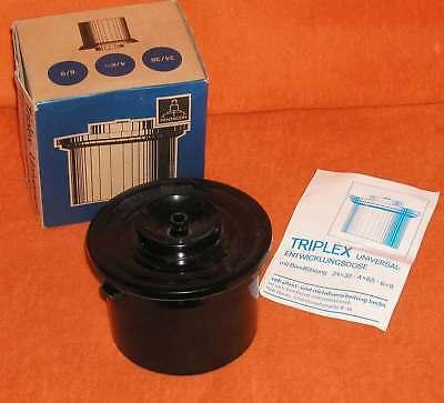 Vintage Triplex Universal Entwicklungsdose Pentacon DDR OVP
