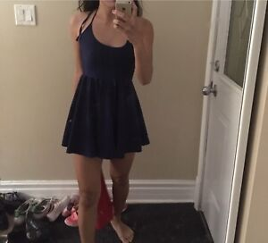 American apparel dress suede xsmall